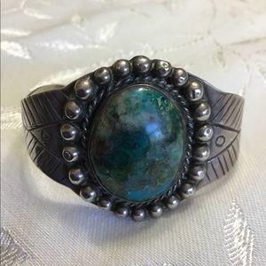Vintage Navajo Sterling Royston Turquoise